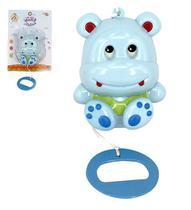 Mobile Infantil Musical Hipopótamo a Corda - Wellmix