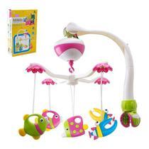 Móbile Musical Eletrônico Peixinhos Bebê - Art Baby - Art bbay