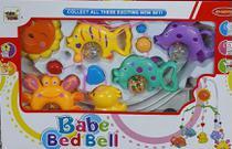 Móbile Musical Giratório Brinquedo Para Berço Bebê Peixe - Toys