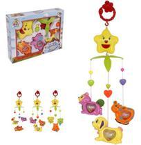 Móbile Musical Giratório Brinquedo Para Berço Bebê Vários modelos femininos e masculinos - GIMP