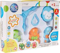 Mobile para Berço com Som e Giratorio Urso Brinquedo Bebe Pais e Filhos -