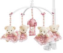Móbile Para Berço Musical E Giratório Ursa Princesa Rose - Sleepbaby Móbiles