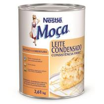 Moça Leite Condensado Consistência Firme Recheio E Cobertura 2,61Kg - Nestlé - Nestle