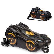 Mochila 3D com Rodinhas e Lancheira Batman Beware  2805AM19 Lançamento -