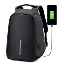 Mochila Anti Furto Notebook Laptop Camera Antifurto USB - Compre na net