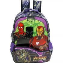 Mochila Avengers  Infinity Light G Costas Infantil Menino - Xeryus