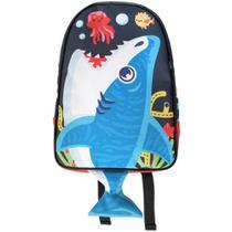 Mochila Baby - Tubarão - Colorido - OD-MBTU - Ó Design -