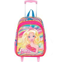 Mochila Barbie Princesa 3d Rodinhas 19x Paete - Sestini