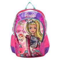 Mochila Barbie Sestini Aventura nas Estrelas M Rosa/Roxa -