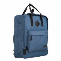 Mochila Bolsa Feminina Impermeável Laptop Azul ys29118 -