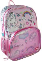 Mochila Bolsa Infantil Crianças Menina Creche Passeio Escola - Yepp