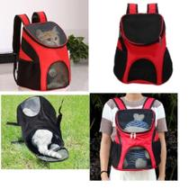 Mochila caes gatos bolsa de transporte passeio pet dog bag viagem canguru cachorros petshop - Makeda