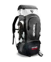 Mochila Camping Reforçada Clio Trilha 50 Litros Impermeável -