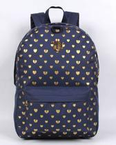 Mochila Capricho Azul Sound and Hearts - Dmw
