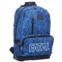 Mochila Casual Universitária Fatal IsiWay Estampada FTM1800800 -