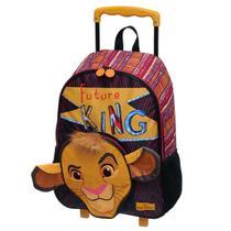 Mochila Com Carrinho Escolar Rei Leão - 921C01 - Pacific