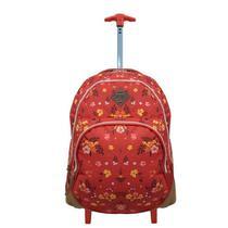 Mochila com rodinhas Clio Para Notebook Vermelha -