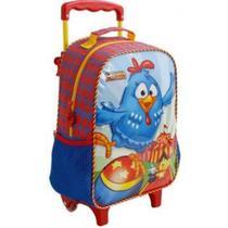 Mochila com rodinhas galinha pintadinha circo - xeryus 7701 -