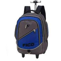 Mochila com Rodinhas Laptop  Fico - Luxcel 51216 azul - Maxlog