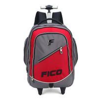 Mochila com Rodinhas Laptop  Fico - Luxcel 51216 vermelha - Maxlog