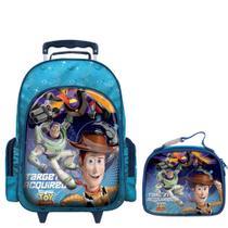 Mochila com Rodinhas Toy Story com Lancheira G -