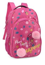 Mochila Costas Barbie Rosa Pink Pom Pom Notebook Original -