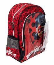 Mochila Costas Grande Miraculous Lady Bug Super - Pacific -