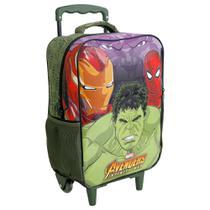 "Mochila de Carrinho 16"" Avengers Infinity War - Hulk - Xeryus -"