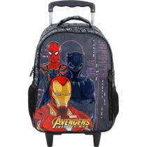 Mochila De Carrinho Escolar Avengers - 7470 - Xeryus