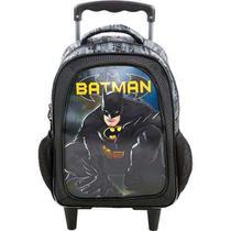 Mochila De Carrinho Escolar Batman - 7580 - Xeryus