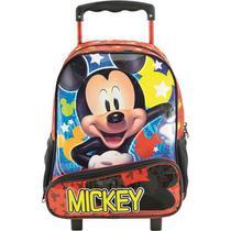 """Mochila De Carrinho Escolar Mickey Mouse """"Hey Mickey""""- 8960 - Xeryus"""