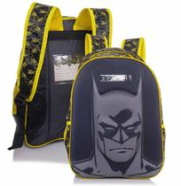 Mochila De Costas Infantil Batman Shadows Grande 4992 Xeryus -