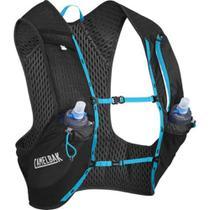 Mochila de Hidratação Nano Vest M CamelBak Preto para Ciclismo + 2 Garrafas -