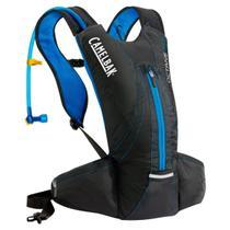 Mochila de Hidratação Octane XCT 2 Litros Preta e Azul para Trail Running - Camelbak 750300 -
