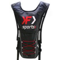 Mochila de Hidratação Para Ciclista Vermelha Com Refil - Kf Sports