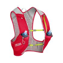 Mochila de hidratação para corridas de trail running vermelha - Nano Vest - Camelbak