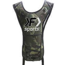 Mochila de Hidratação Térmica Impermeável C/ Bolsa D' Água 2 Litros Camuflada - Kf Sports