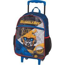 Mochila De Rodinha Infantil Transformers Bumblebee 933W01 -