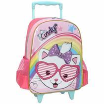 Mochila de rodinhas cindy pink ic33962cd / un / luxcel -