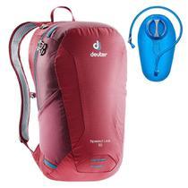Mochila Deuter 16 Litros Speed Lite Hiking + Refil De Hidratação Camelbak Crux 2 Litros -