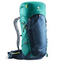 Mochila Deuter 32 Litros Hiking Escalada Speed Lite Esportiva Azul e Verde -