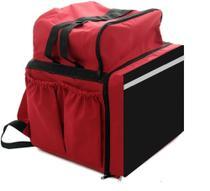 Mochila entrega c/isopor bolsa, bag c térmico superior, moto entreg restaur lanc del Ifood aplic piz - Larotti Equipamentos