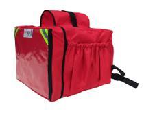 Mochila Entregador Moto delivery 45 Lts Vermelha - Grupo Gama