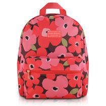 Mochila Escolar c/ Estampa Floral para Jovens - Jacki Design -