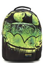 Mochila Escolar De Costas Batman Preta e Verde - Xeryus 8135 -