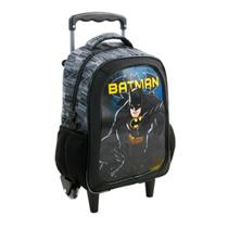 Mochila Escolar De Rodinha Batman Dark Light - Xeryus -