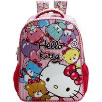 Mochila Escolar Hello Kitty Tiny Bears 7862 - Xeryus