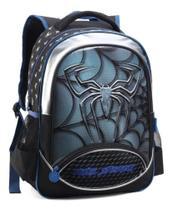 Mochila Escolar Infantil Aranha Dark Spider Denlex -