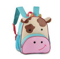 Mochila Escolar Infantil CLIO Pets Vaquinha - CP2097P -
