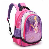 Mochila Escolar Infantil Feminina Denlex 0153 Pop Pequena -